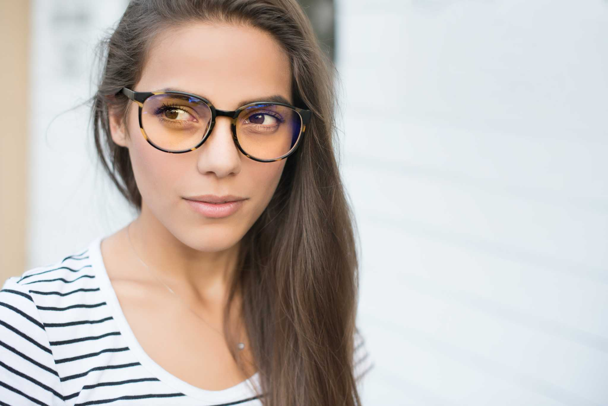 Protect your Eyes from the Harmful Blue Light & Look Sexy with Prospek Glasses from the Spektrum Collection